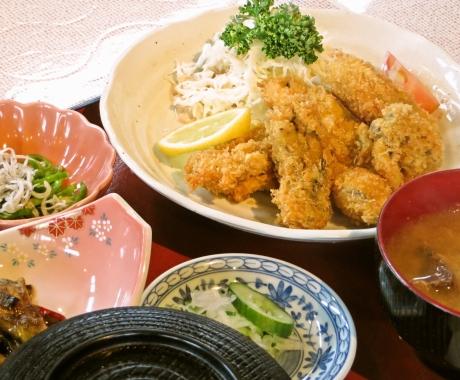 ランチ ~カキフライ定食~